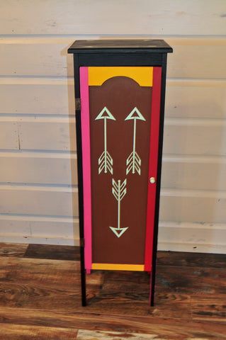 Upcycled Southwest Cabinet