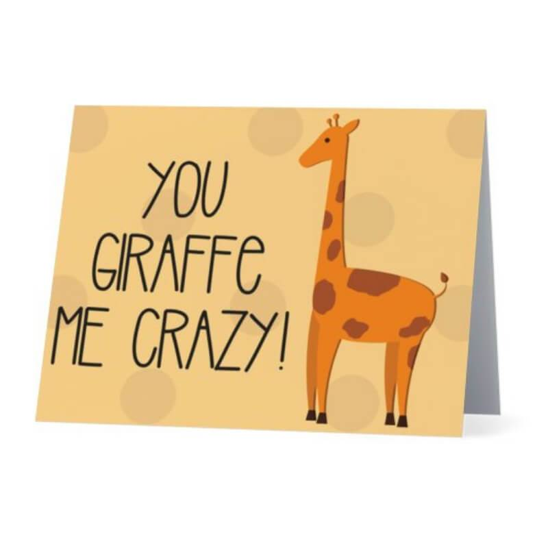 You Giraffe Me Crazy! - Cute Dose