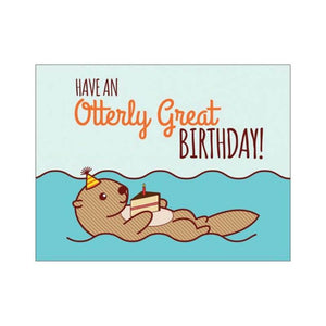 Have an Otterly Great Birthday - Cute Dose