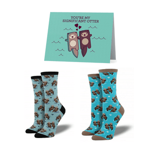 Significant Otter Socks Bundle - Cute Dose