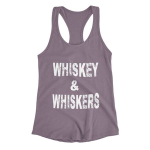 Whiskey & Whiskers Racerback Tank - Cute Dose