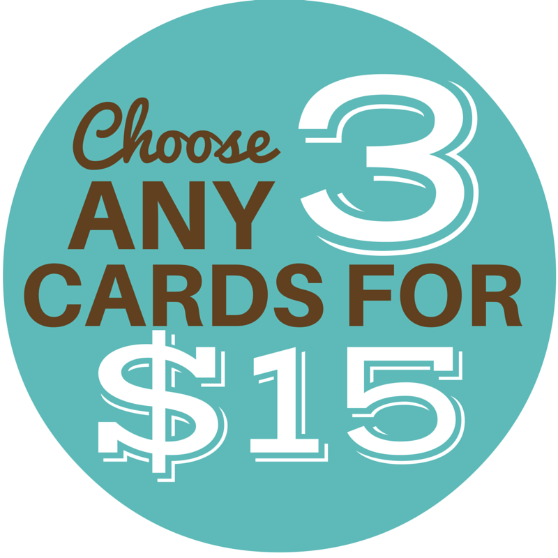 Choose Any 3 Cards - Cute Dose