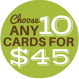 Choose Any 10 Cards - Cute Dose