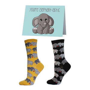 Elephant Socks Bundle - Cute Dose