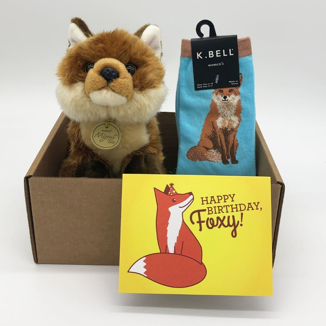 Birthday Fox Kit Care Package