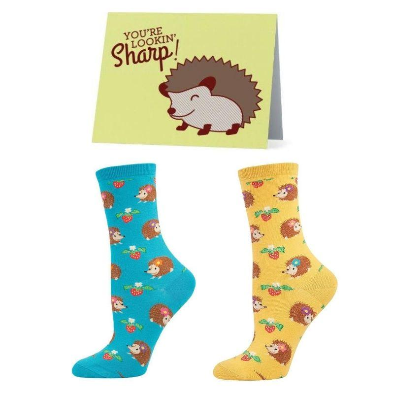 Hedgehog Socks Bundle - Cute Dose