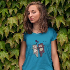 Significant Otter Ladies' T-Shirt - Cute Dose