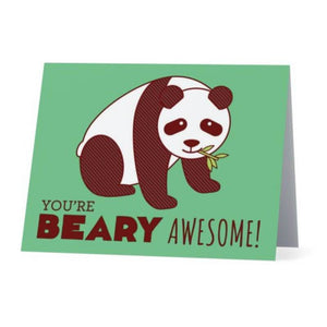 You're Beary Awesome Card - Cute Dose