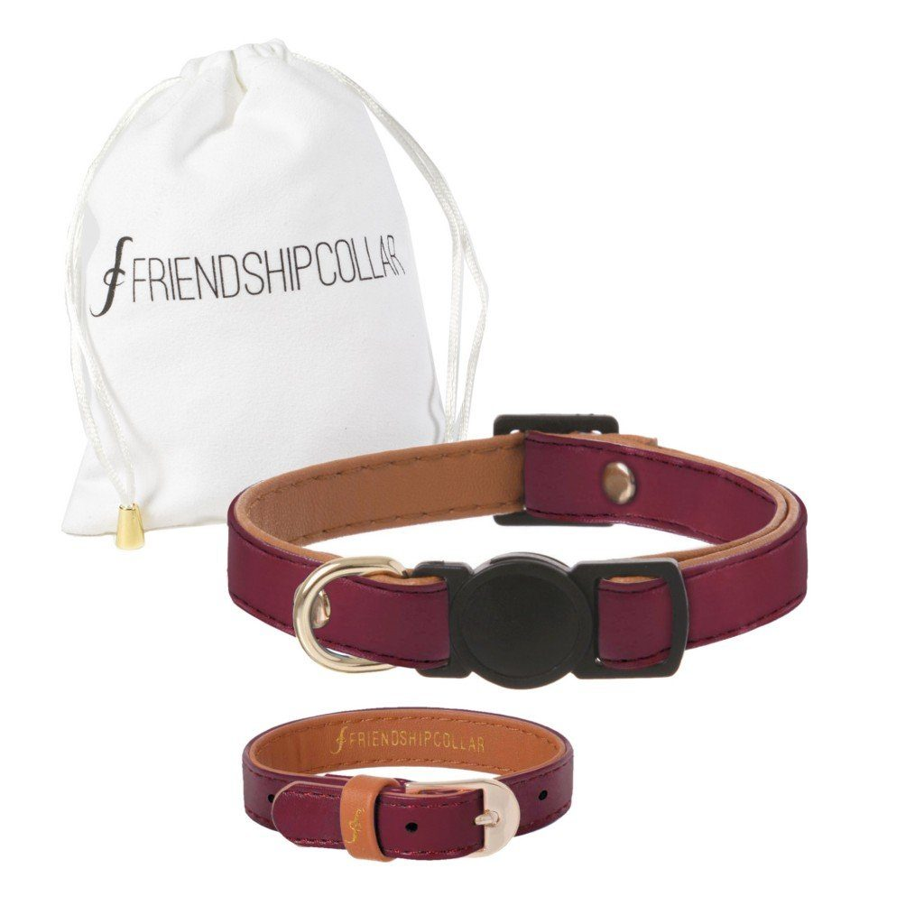 Classic Cat Bordeaux Cat Collar - Cute Dose