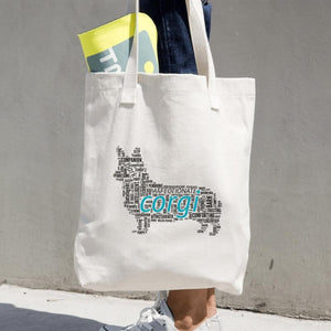 Corgi Cloud Tote Bag - Cute Dose
