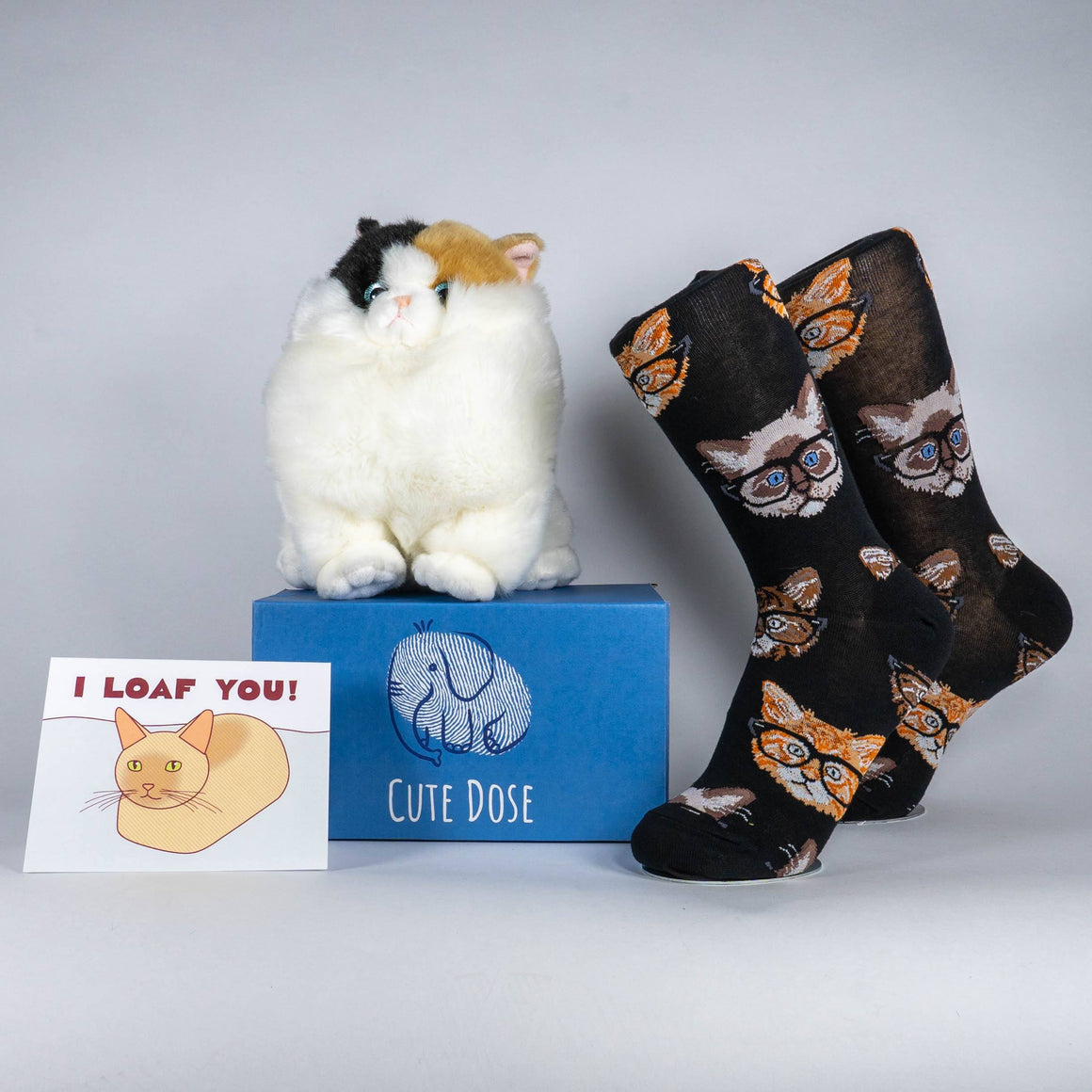 Calico Cat Care Package - Cute Dose