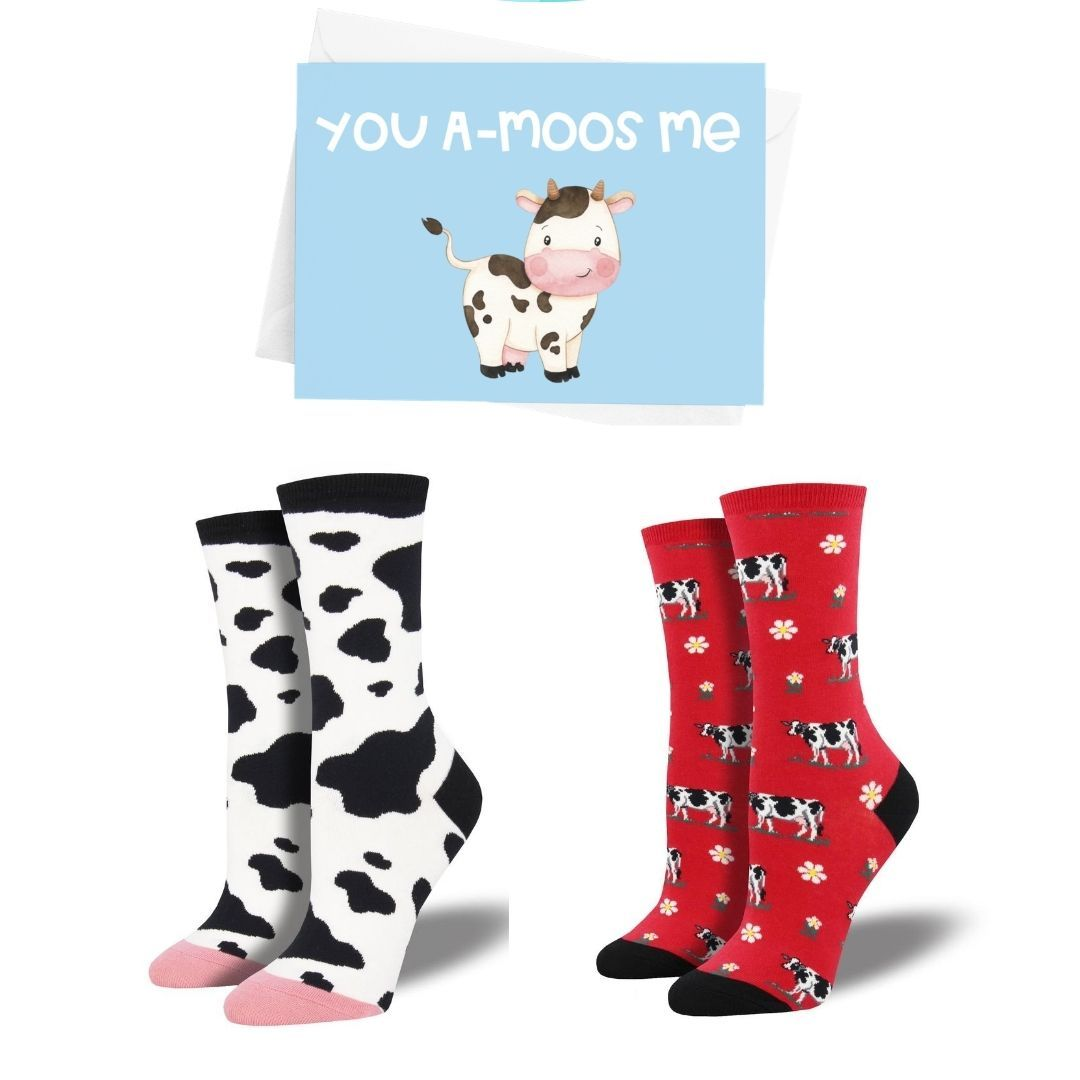 Cow Socks Bundle - Cute Dose
