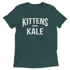 Kittens & Kale T-Shirt - Cute Dose