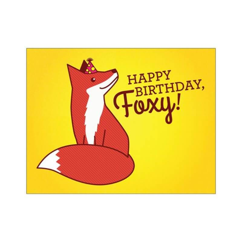 Happy Birthday Foxy! - Cute Dose