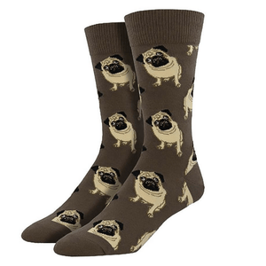Pug Socks - Men's - Cute Dose
