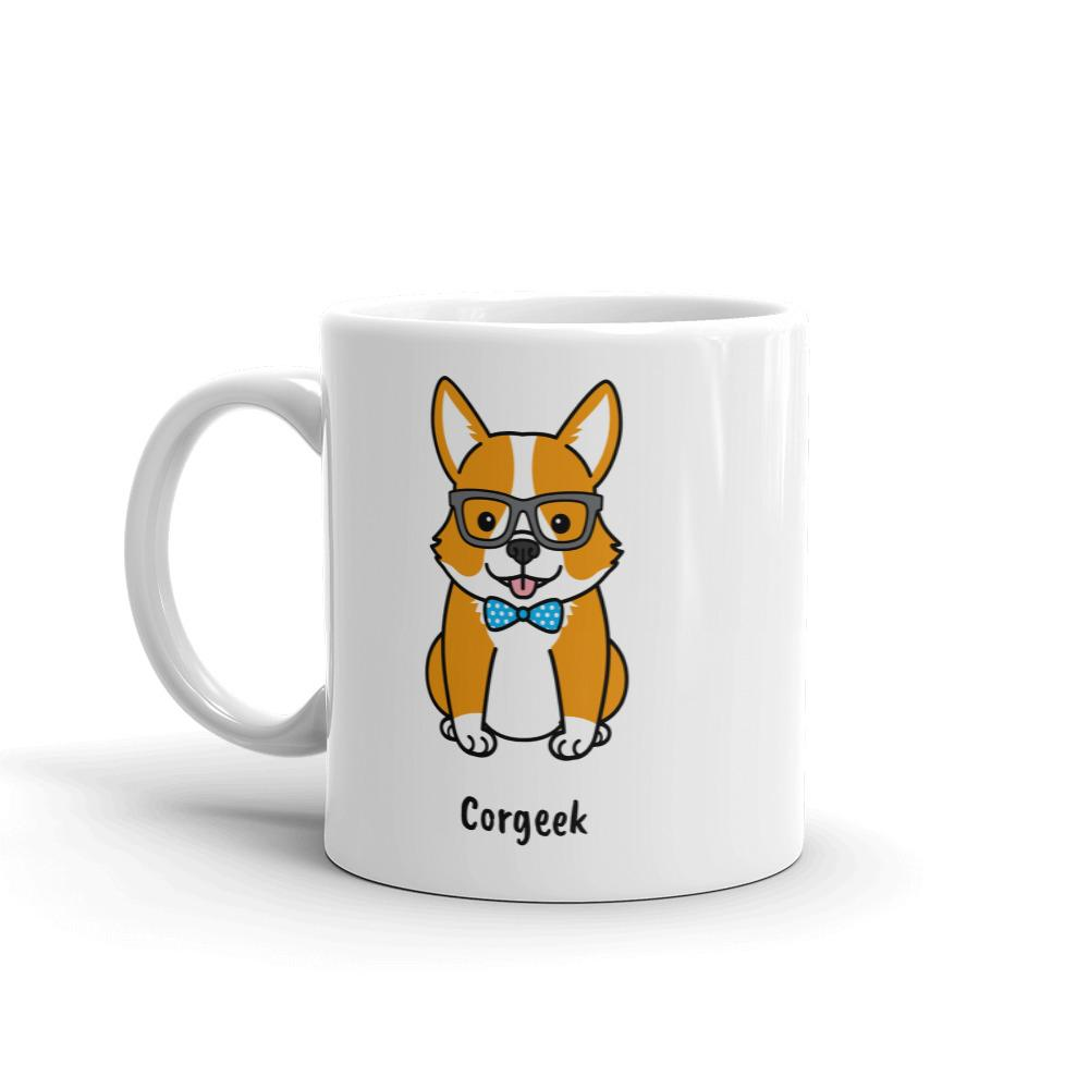 53645d7d Corgeek Coffee Mug - Cute Dose
