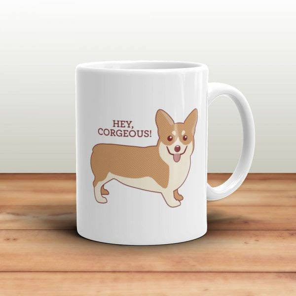 Hey Corgeous Coffee Mug - Cute Dose