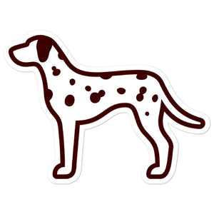 Dalmatian Bubble-free stickers - Cute Dose
