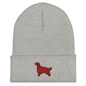 Irish Setter Cuffed Beanie - Cute Dose