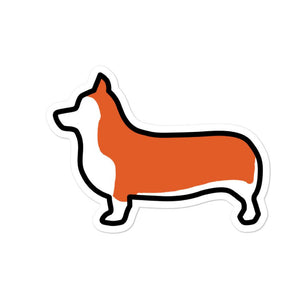 Corgi Bubble-free stickers - Cute Dose
