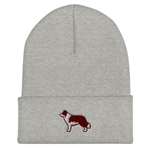 Border Collie Cuffed Beanie - Cute Dose