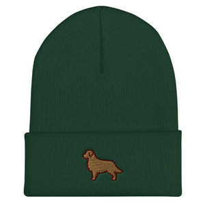 Golden Retriever Cuffed Beanie - Cute Dose