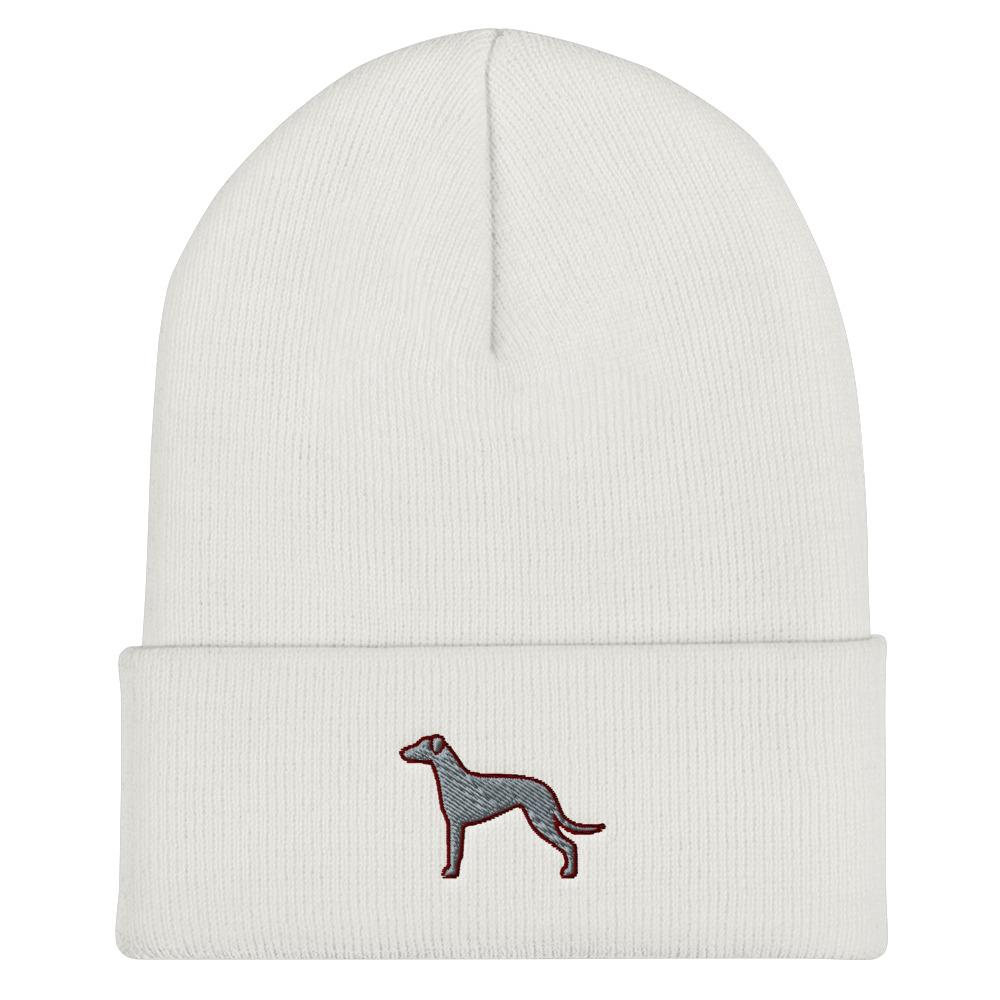 Greyhound Cuffed Beanie - Cute Dose