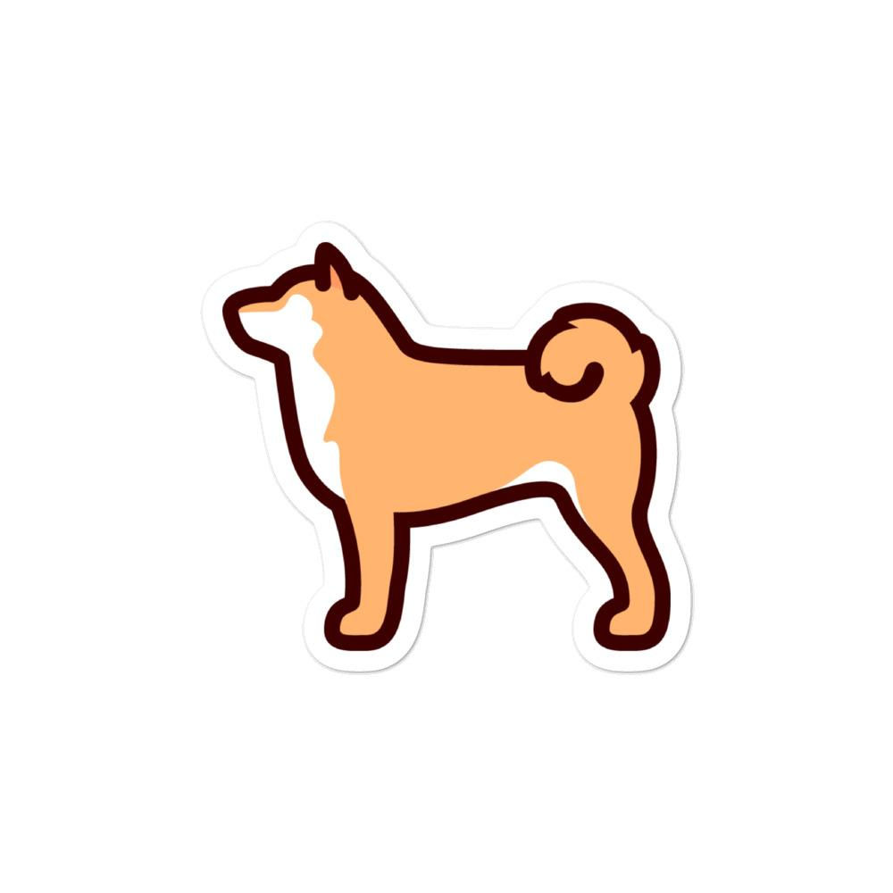 Shiba Inu Bubble-free stickers - Cute Dose