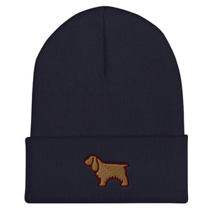 Cocker Spaniel Cuffed Beanie - Cute Dose