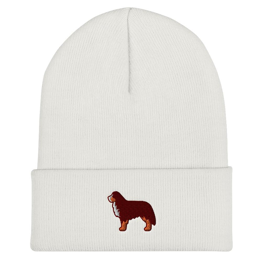 Bernese Mountain Dog Cuffed Beanie - Cute Dose