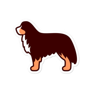 Bernese Mountain Dog Bubble-free stickers - Cute Dose
