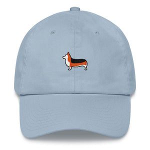 Tri-Color Corgi Dad hat - Cute Dose