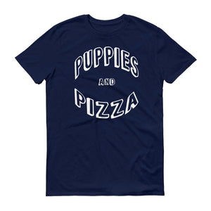 Puppies And Pizza T-Shirt - Cute Dose