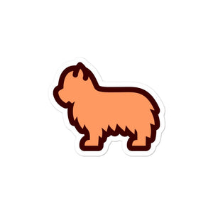 Yorkshire Terrier Bubble-free stickers - Cute Dose