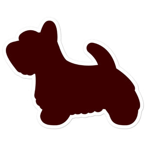 Scottish Terrier Bubble-free stickers - Cute Dose
