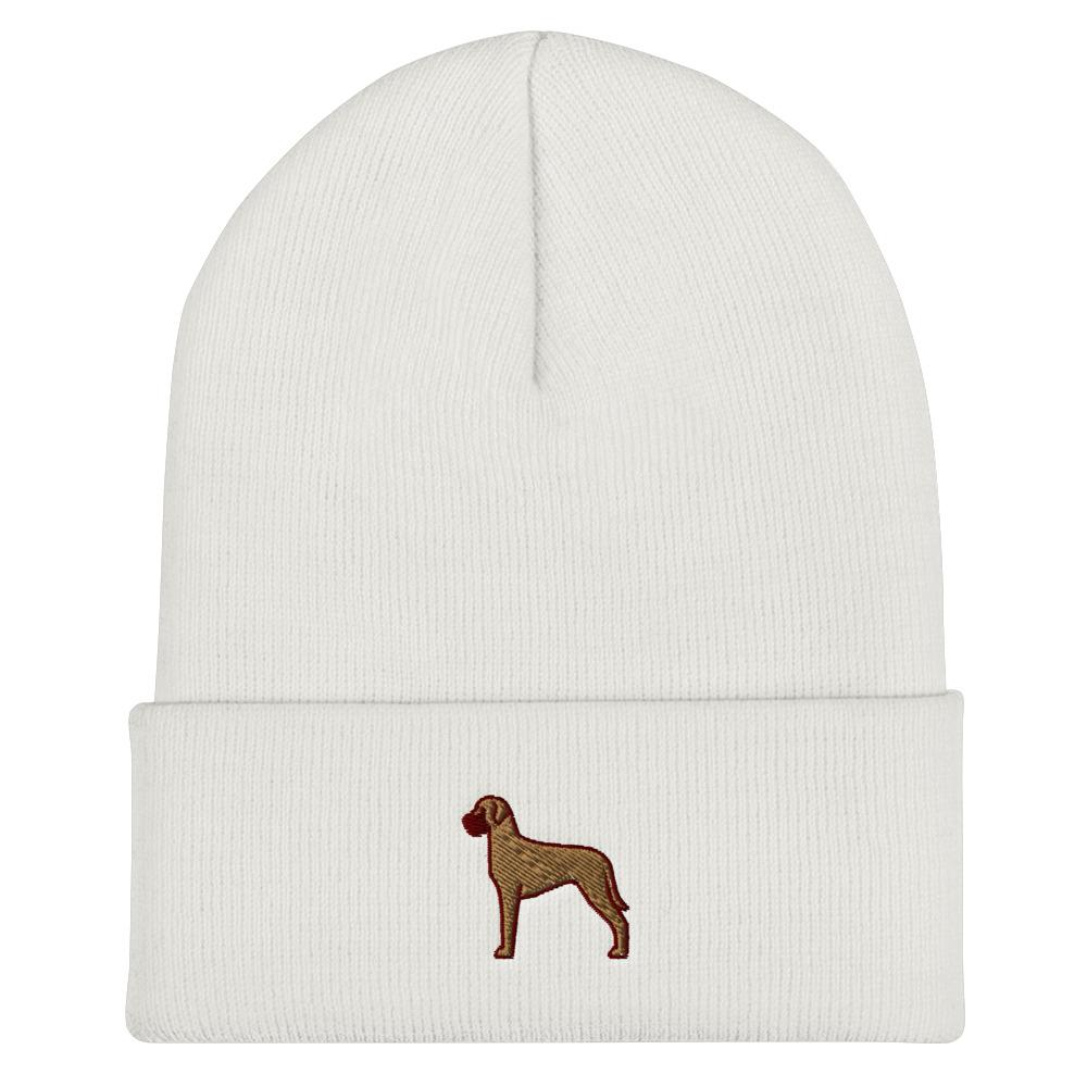 Great Dane Cuffed Beanie - Cute Dose