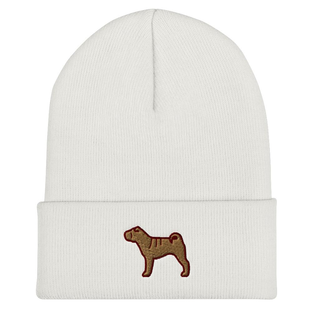 Sharpei Cuffed Beanie - Cute Dose