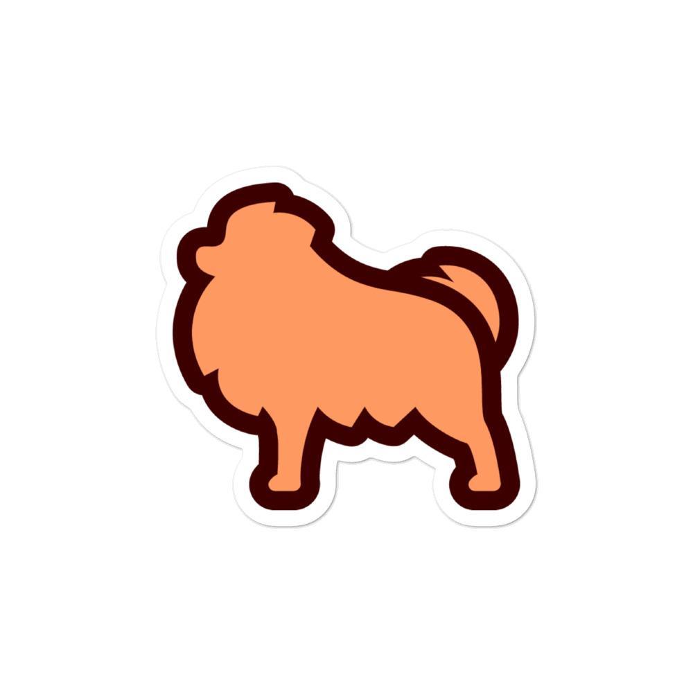 Pomeranian Bubble-free stickers - Cute Dose