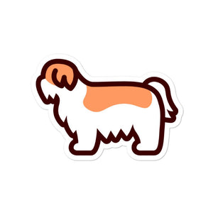Shih Tzu Bubble-free stickers - Cute Dose