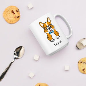 Corgeek Coffee Mug - Cute Dose