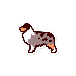 Australian Shepherd Bubble-free stickers - Cute Dose