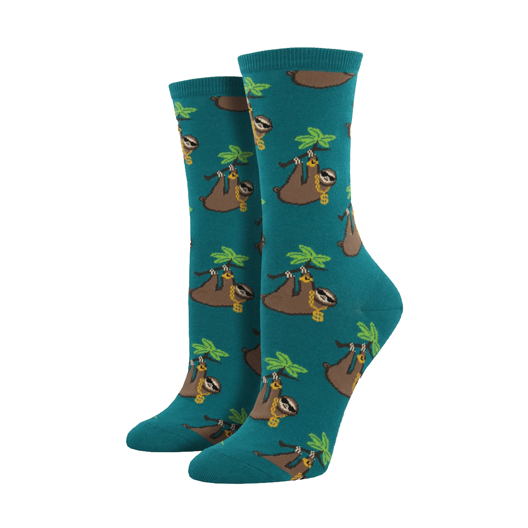 Sloth Bling Socks