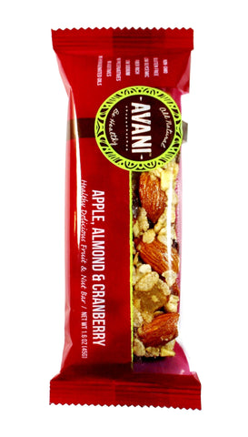 Apple Almond & Cranberry - box of 12 bars