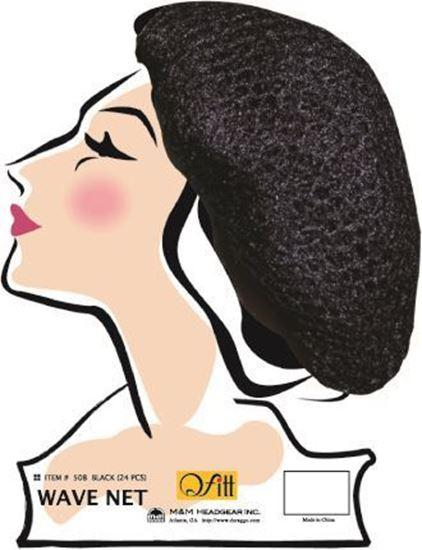 wholesale-qfitt-mesh-wave-net-black-508