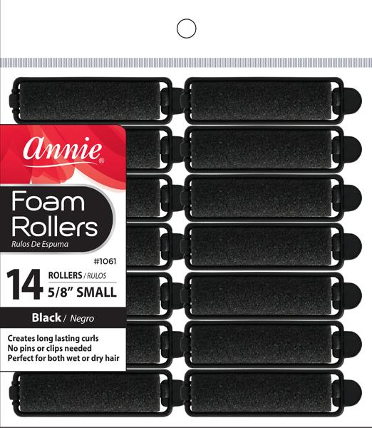 #1061 Annie Foam Rollers Small 14Pc (6Pk)