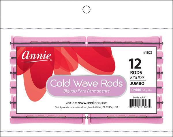 #1103 Annie Jumbo Orchid Cold Wave Rods (12Pk)