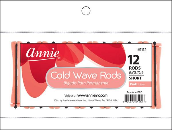 #1112 Annie Cold Wave Rods Short 12Pc (12Pk)
