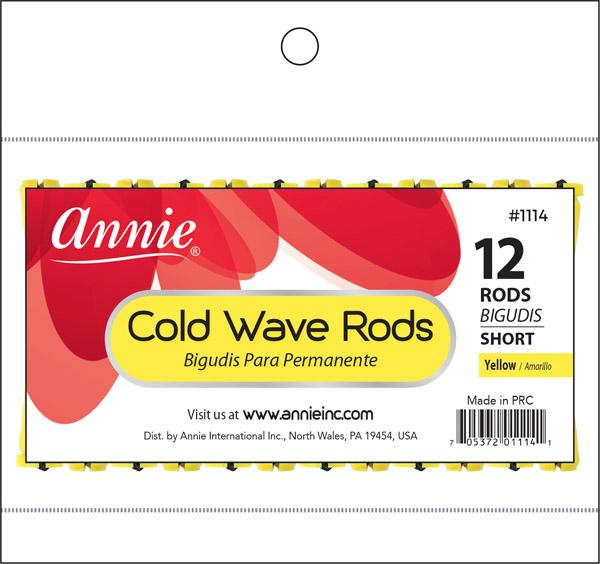 #1114 Annie Cold Wave Rods Short 12Pc (12Pk)