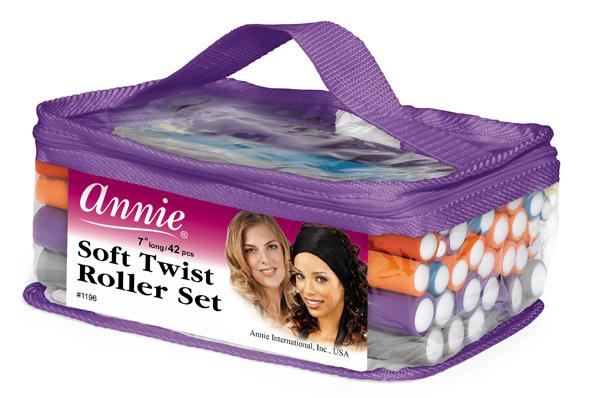 Annie Soft Twist Roller Set #1196 (PC)