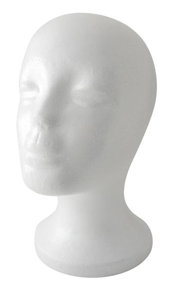 #4884 Annie Foam Head (12Pc)